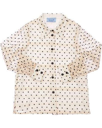 Белая рубашка на пуговицах Mi.mi.sol.