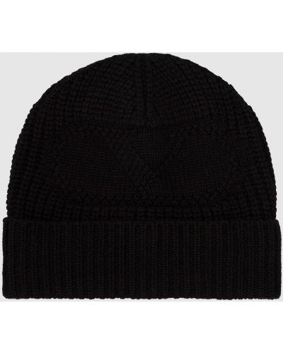 Кашемировая черная шапка Valentino