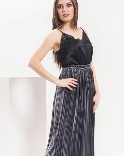 Плиссированная юбка с поясом Modellos