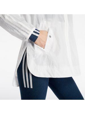 Biała wiatrówka Adidas Originals