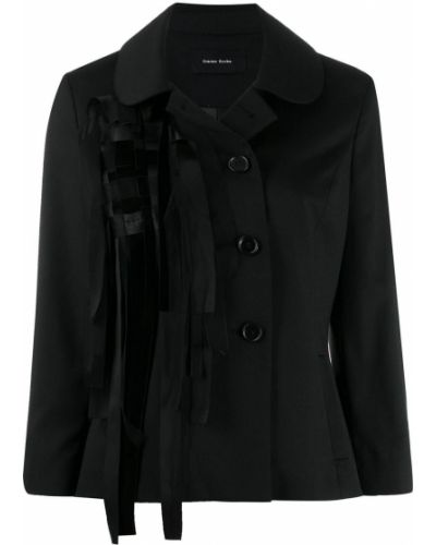Черная куртка с манжетами Simone Rocha