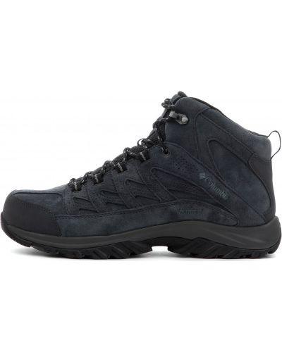 Треккинговые ботинки водонепроницаемые кожаные Columbia
