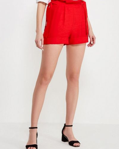 Красные шорты Lost Ink.