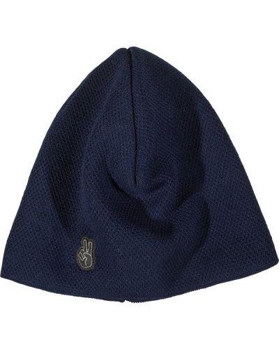 Флисовая шапка - синяя Seger
