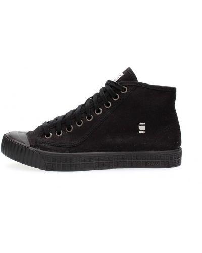 Czarne sneakersy G-star