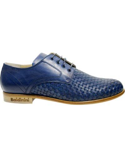 Туфли синие Baldinini