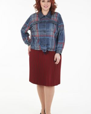 Плиссированная юбка на резинке Wisell