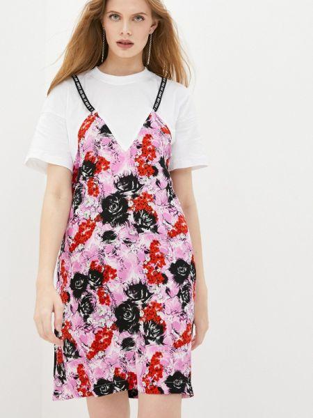 Разноцветное платье Frankie Morello