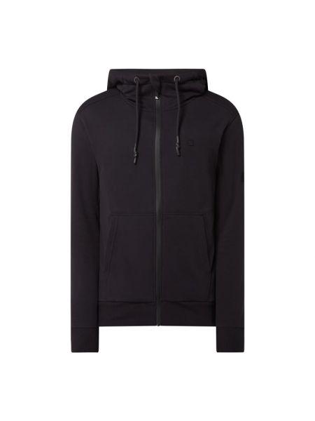 Bluza rozpinana z kapturem - czarna Alife And Kickin