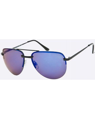 Солнцезащитные очки стеклянные темно-синий Medicine