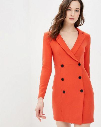 Платье - оранжевое Gepur