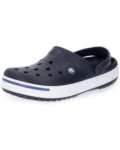 С ремешком синие пляжные шлепанцы Crocs