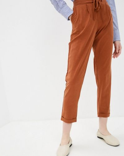 Оранжевые зауженные брюки Savage