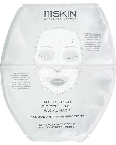 Maska do twarzy skórzany w klatce 111skin