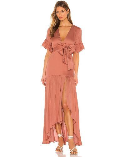 Платье макси винтажное с подкладкой в полоску Privacy Please