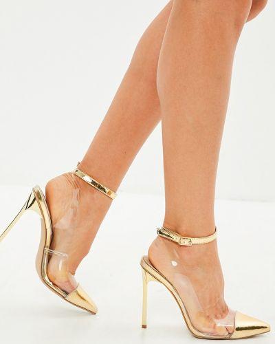 Туфли на высоком каблуке на каблуке на шпильке Missguided