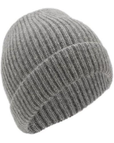 Серая шапка кашемировая Tsum Collection