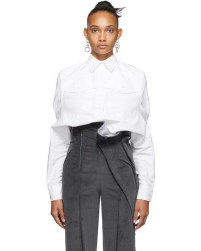 Рубашка с воротником с манжетами с карманами из вискозы Situationist