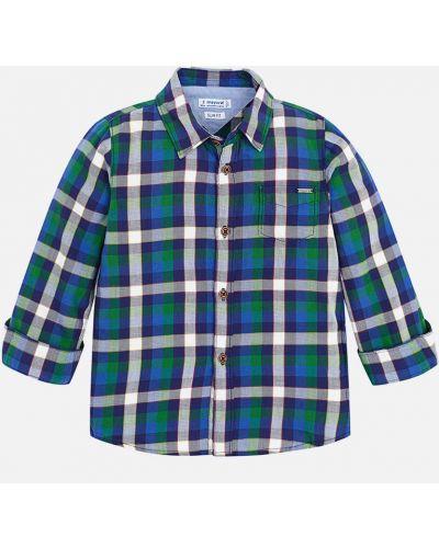 Рубашка хлопковая с рисунком Mayoral
