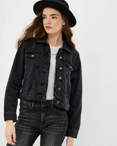 Черная джинсовая куртка Ovs