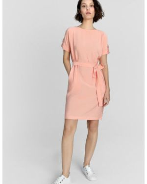 Платье с поясом через плечо прямое Ostin