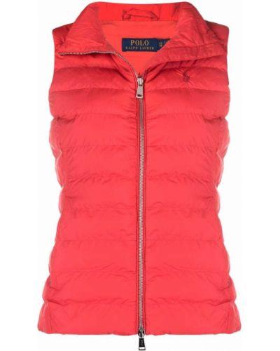 Жилетка с карманами - красная Polo Ralph Lauren