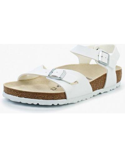 Белые сандалии Birkenstock
