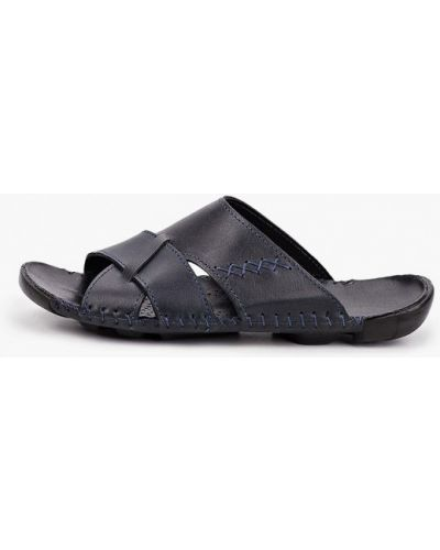 Кожаные синие сандалии Henderson
