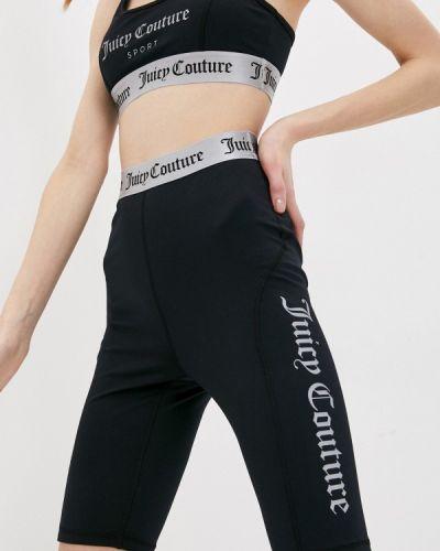 Черные спортивные шорты Juicy Couture