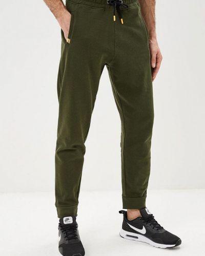 Спортивные брюки зеленый хаки Piazza Italia