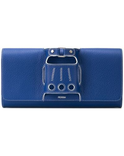 Синяя сумка Perrin Paris