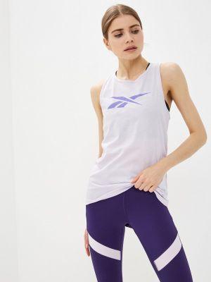 Фиолетовая спортивная майка Reebok