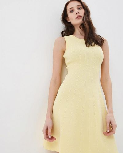 Желтое платье Lusio