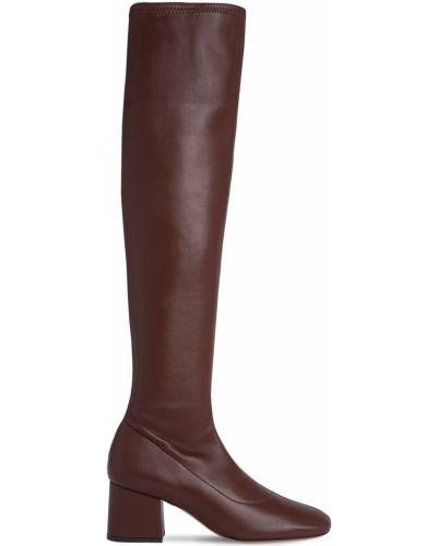 Ботильоны на каблуке - коричневые By Far
