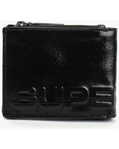 Черный кошелек индийский Superdry