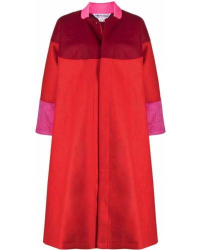 Красное пальто с воротником Comme Des Garçons Comme Des Garçons