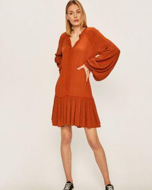 Sukienka mini codzienna z długim rękawem Billabong