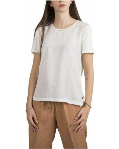 Beżowa t-shirt Kocca