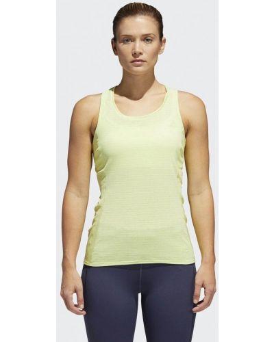 Желтая майка спортивная Adidas
