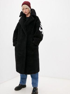 Шуба - черная Forte Dei Marmi Couture