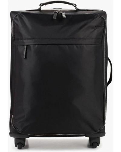Дорожная сумка нейлоновая черная Mango