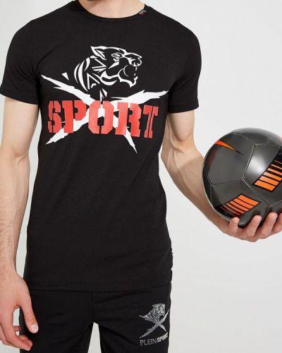 Черная футболка Plein Sport
