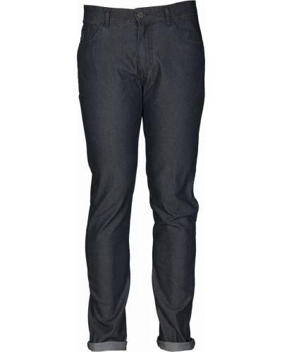 Хлопковые синие джинсы Navigare