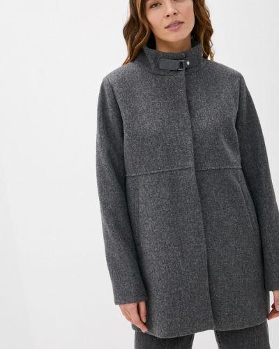 Серое пальто Zolla