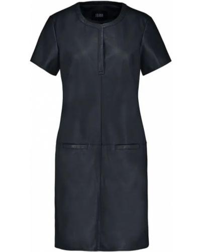Czarna sukienka krótki rękaw Ibana