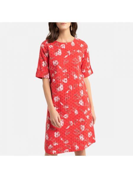 Платье мини миди с вышивкой La Redoute
