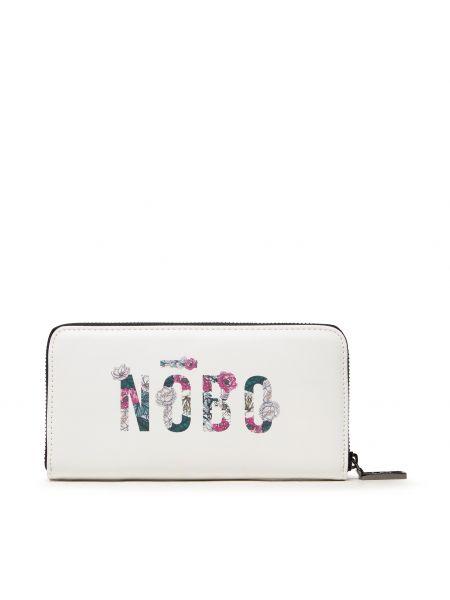 Biały portfel Nobo