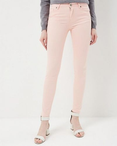 Розовые зауженные брюки Incity