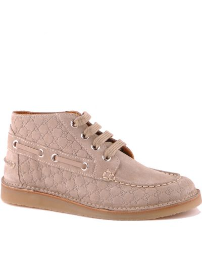 Ботинки бежевые Gucci