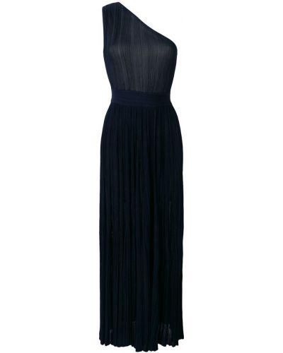 Трикотажное вечернее платье - синее Antonino Valenti